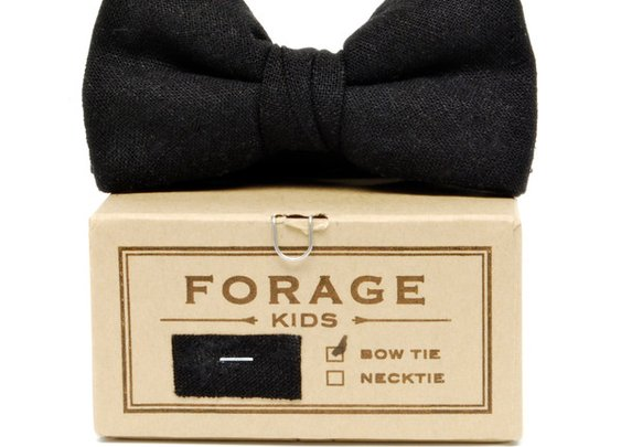 Forage - Black Kids Bow Tie