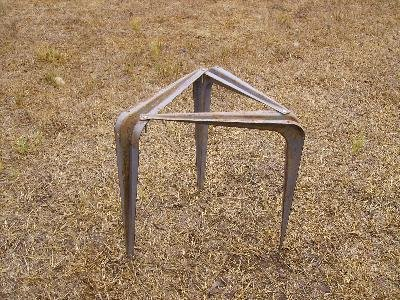 Shelf Bracket Campfire Cooking Stand