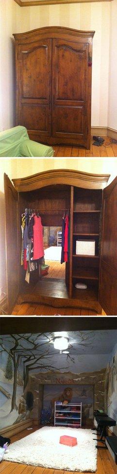 Through the wardrobe