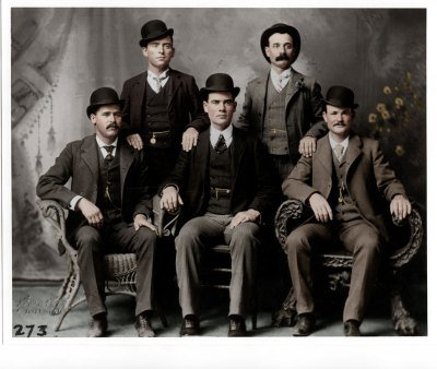 Butch Cassidy and the Wild Bunch in color