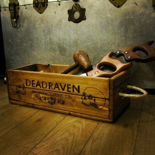 DEADRAVEN Manufacturing Co.   Scurrying through the thriving passages of Bristol...