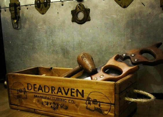 DEADRAVEN Manufacturing Co. | Scurrying through the thriving passages of Bristol...