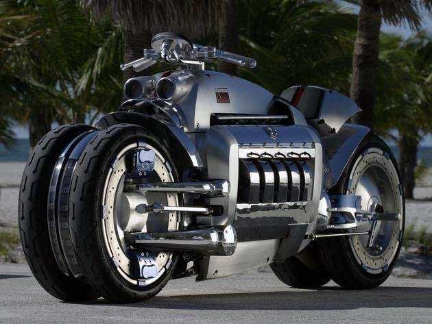 World's Fastest Motorcycle Prototype: Dodge Tomahawk | I Like To Waste My Time
