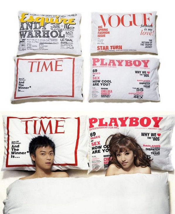 Magazine Cover Pillowcase