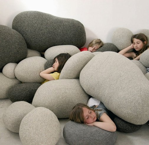 Living Stones - Pebble Pillows