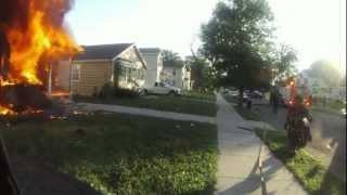 Watch a firefighter fight fires for a year via helmet cam