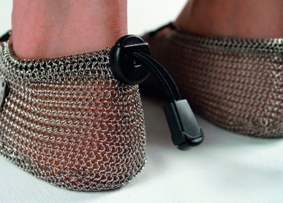 Gost Barefoots get medieval with chainmail barefoot shoes