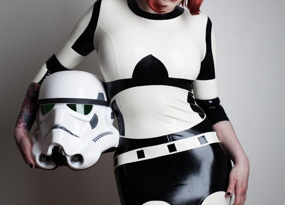 Stormtrooper Latex Dress (Geek Level: 99)