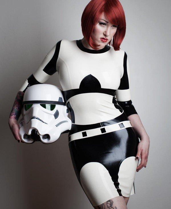 Stormtrooper Latex Dress (Geek Level: 99)