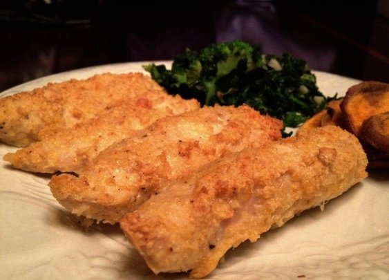 Healthy Homemade Chicken Tenders