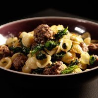 Channel 4 Scrapbook - Beef meatballs with orecchiette, kale and pine nuts recipe