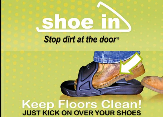 shoe in - Stop Dirt At The Door