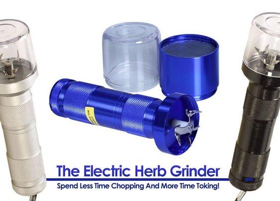 Electric Herb Grinder