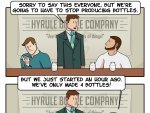 The Last Day of the Hyrule Bottle Factory - Dorkly Comic