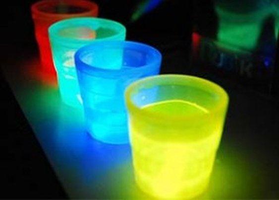 Glow In The Dark Shot Glass Set