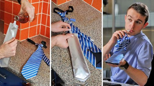 Brit Morin - It's a nice morning for a Flask Tie, don't you...