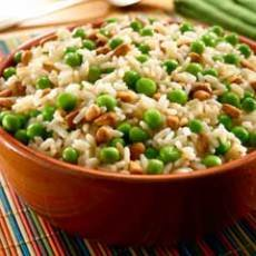 Rice Pilaf With Peas & Pine Nuts Recipe | Yummly