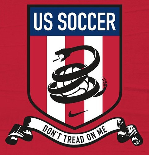 Cool USA Soccer graphic