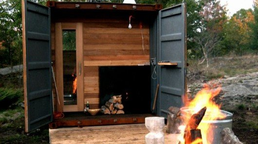 Sauna Box Turns An Old Shipping Container Into A Self