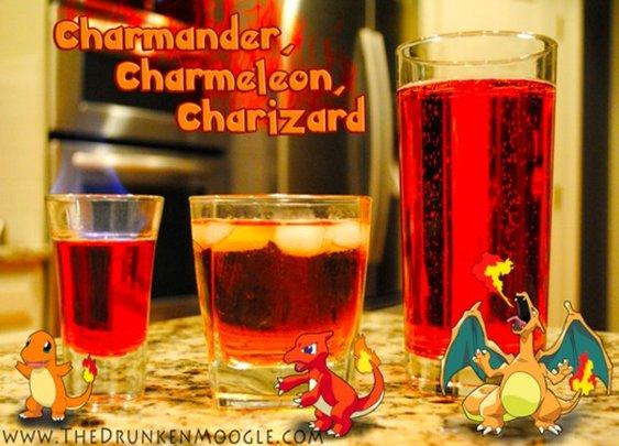 Gotta Drink 'Em All: Evolving Pokémon Cocktails - StumbleUpon