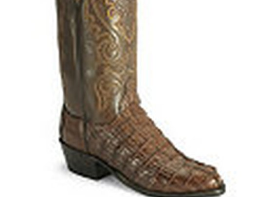 Lucchese Handcrafted 2000 Caiman Western Boots