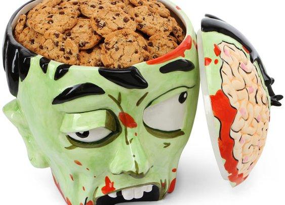 Zombie Head Cookie Jar | That Should Be Mine