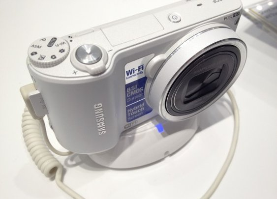 Samsung shows off new suite of smart cameras at CES 2013