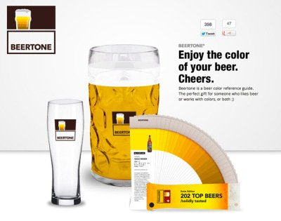 Beertone, A Beer Reference Guide That Looks Like a Color Swatch Book