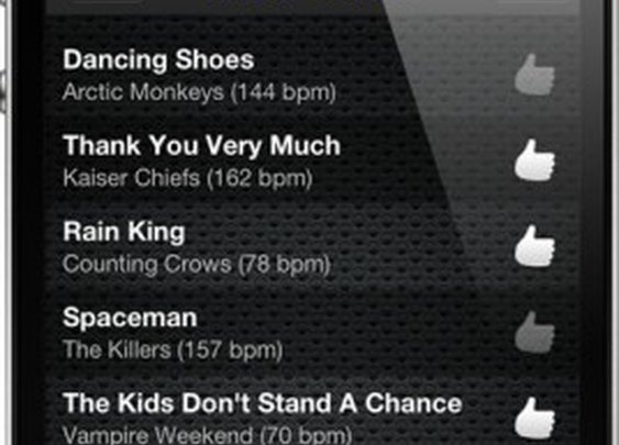 Cruise Control app changes songs' tempo to match runners' cadence