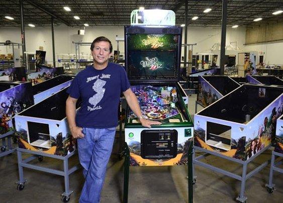 Jersey Jack Pinball, Wizard of Oz: Pinball is dying. Can arcade entrepreneur Jack Guarnieri bring it back to life? - Slate Magazine