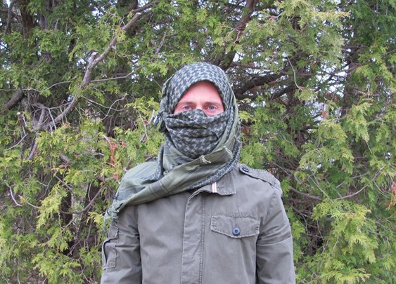 How to Tie a Military-Style Shemagh/Keffiyeh