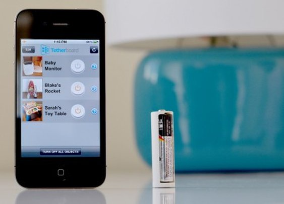 Tethercell makes any AA battery-powered device controllable via smartphone