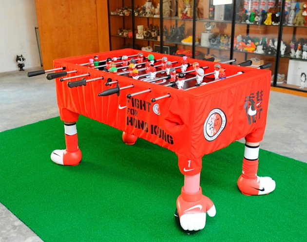 Nike Custom Foosball Table By Michael Lau Gentlemint - Custom foosball table