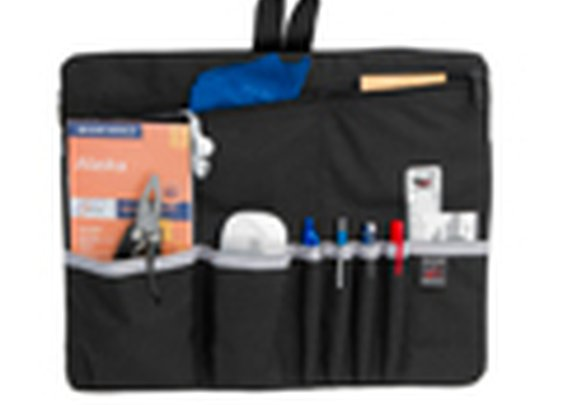 Organizational insert for briefcases, messenger bags, travel bags
