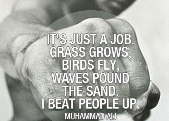 Sports Quotes / #muhammadali #sports  #quotes  #sportsquotes
