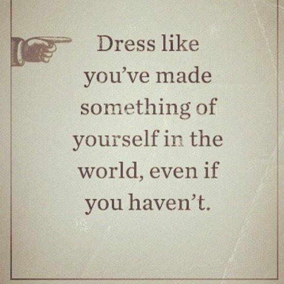 Gentleman's Rule number #2