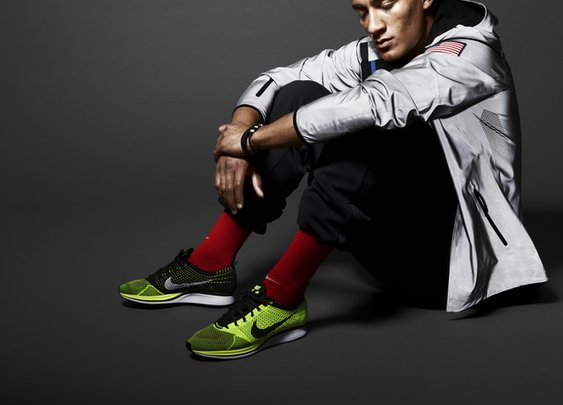 Nike NSW Knit Track Pants with Nike Flyknit Racer