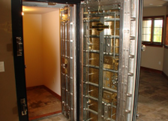 Private Residential Vault with Door