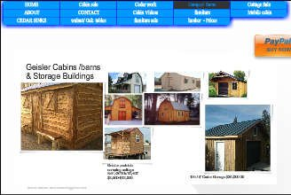 Wix.com geisler created by geislercabins based on Green Properties | Wix.com
