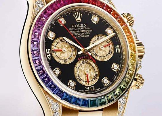 Rolex Daytona Rainbow Watch