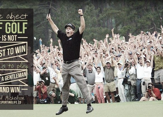 Sports Quotes / asportinglife.co #philmickelson #sportsquote #golf
