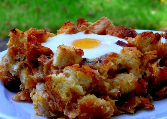 Bacon, Tomato and Cheddar Breakfast Bake with Eggs   Noble Pig