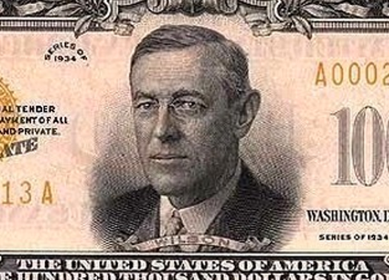 The True Story of the Time the Government Printed a $100,000 Bill