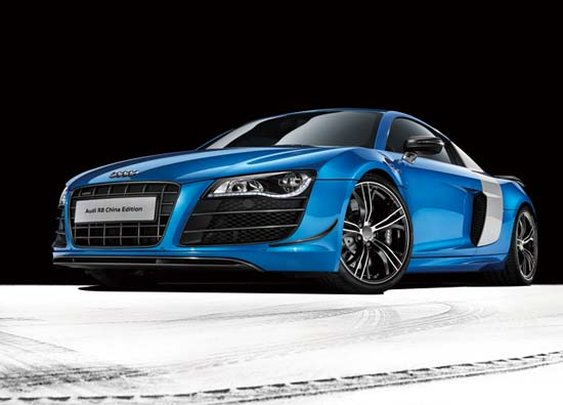 Audi unveils R8 China Edition and R8 Limited Edition