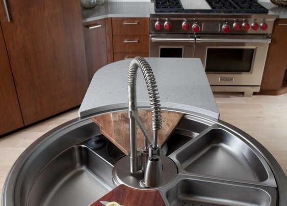 Revolutionary Sink That Rotates