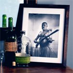 Free Art Download: Ernest Hemingway with Shotgun