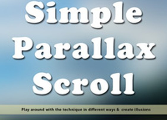 A Simple Parallax Scrolling Technique | Nettuts+