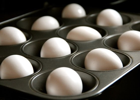 Hard Baked Eggs