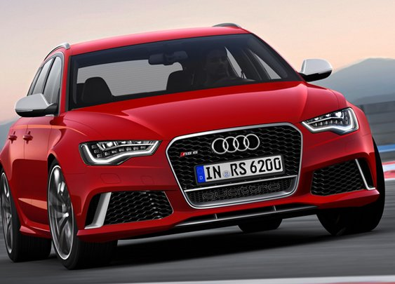 Revealed: the new Audi RS6 Avant - BBC Top Gear