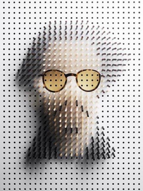 Pin Art – Six Celebrity Portraits